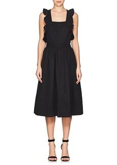 Ulla Johnson Women's Willa Twill Pinafore Dress