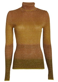 Ulla Johnson Zayn Gradient Turtleneck Top