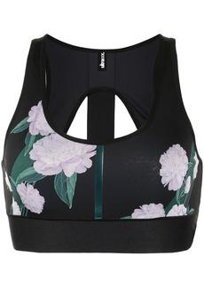 Ultracor floral print sports bra
