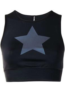 Ultracor star print crop top