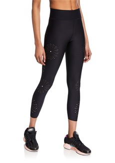 Ultracor Ultra High Laser-Cut Leggings with Swarovski Crystals