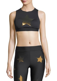Ultracor Level Silk Knockout Star Crop Top