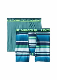 Under Armour 2-Pack Boardshorts Stripe Boxer Set (Big Kids)