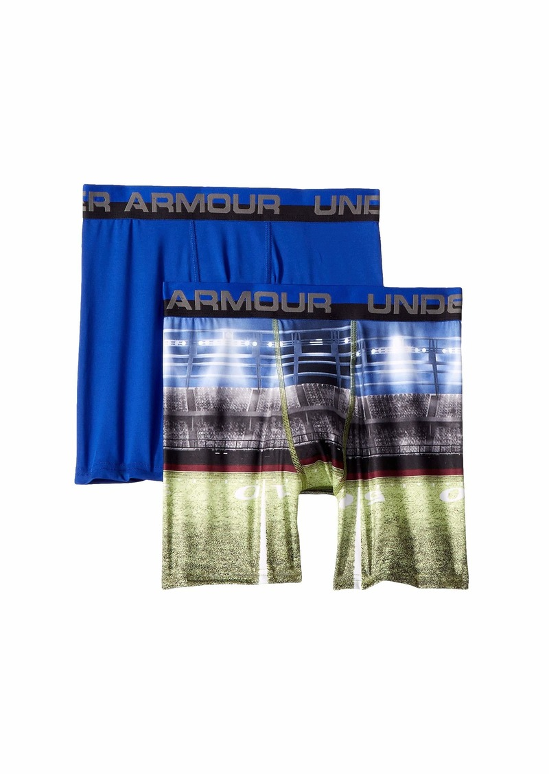 Under Armour 2-Pack Football Sublimation Boxer (Big Kids)