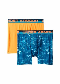 Under Armour 2-Pack Halftone Wordmark Boxer Set (Big Kids)