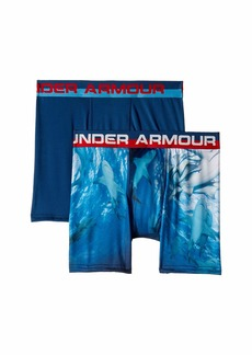 Under Armour 2-Pack Shark Boxer Set (Big Kids)