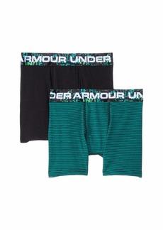 Under Armour 2-Pack Solid Cotton Boxer Set (Big Kids)