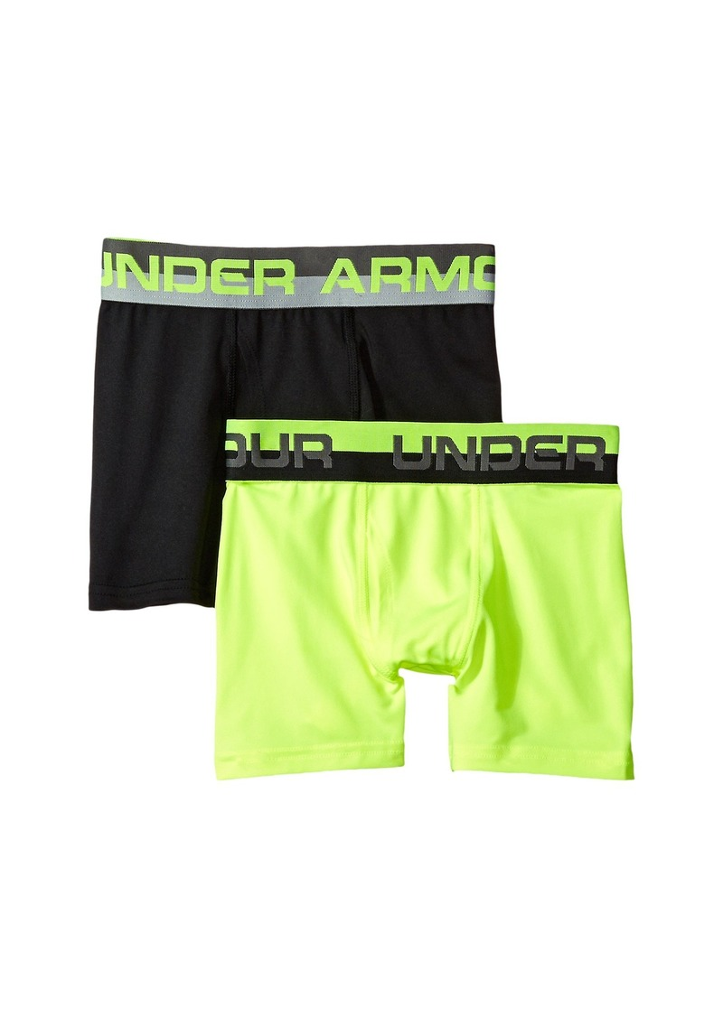 Under Armour 2-Pack Solid Performance Boxer (Big Kids)