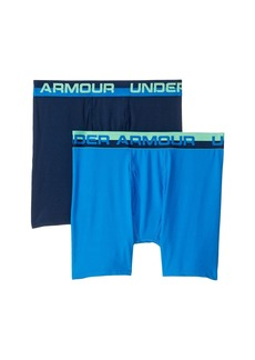 Under Armour 2-Pack Solid Performance Boxer Set (Big Kids)