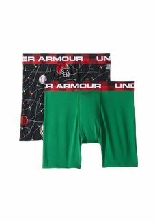 Under Armour 2-Pack String Lights Boxer Set (Big Kids)