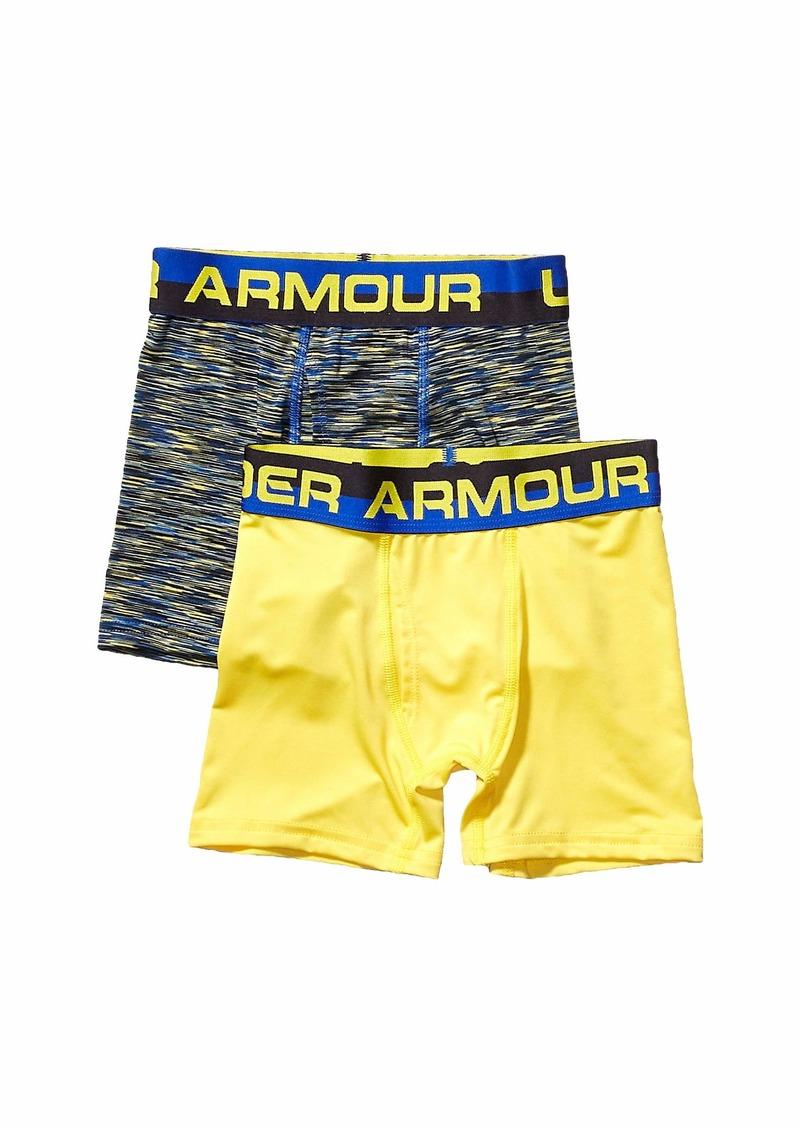 Under Armour 2-Pack Twist Performance Boxer (Big Kids)