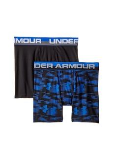 Under Armour 2 Pack UA Blur Boxer Brief (Big Kids)