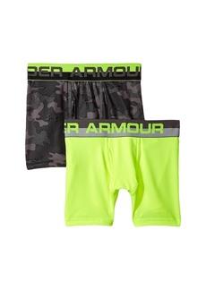 Under Armour 2-Pack UA Camo Boxer Brief (Big Kids)