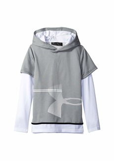 Under Armour AF 1.5 Layered Hoodie (Big Kids)