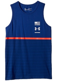 Under Armour Americana Stripes Tank Top (Big Kids)