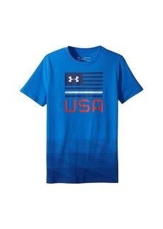 Under Armour Americana USA Short Sleeve Tee (Big Kids)