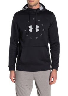 Under Armour Amour Circle Wordmark Fleece Pullover Hoodie