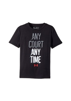 Under Armour Any Court Any Time Short Sleeve Tee (Big Kids)
