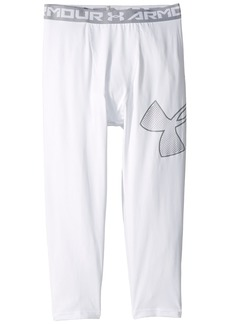 Under Armour Armour 3/4 Logo Leggings (Big Kids)