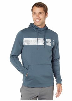 Under Armour Armour Fleece Pullover Hoodie Bar Logo Graphic