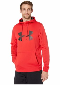 Under Armour Armour Fleece Pullover Hoodie Big Logo Graphic