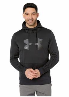 Under Armour Armour Fleece Pullover Hoodie Big Logo Graphic