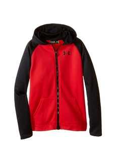 Under Armour Armour Fleece Storm Mag Zip Hoodie (Big Kids)