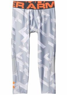 Under Armour Armour HeatGear® 3/4 Printed Leggings (Big Kids)