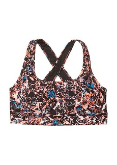 Under Armour Armour Mid Cross-Back Printed Bra