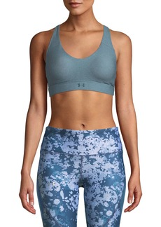 Under Armour Balance Mid-Impact Sports Bra with Logo Straps