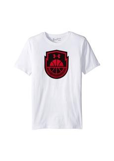 Under Armour Basketball Icon Short Sleeve Tee (Big Kids)