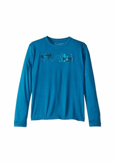Under Armour Big Logo Print Fill Long Sleeve (Big Kids)