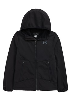 Boy's Under Armour Kids' Soft Shell Hooded Jacket