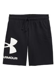 Boy's Under Armour Kids' Ua Rival Logo Drawstring Shorts