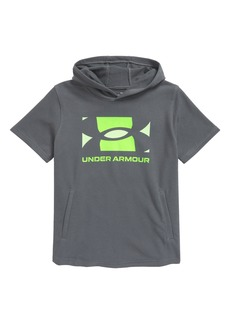 Boy's Under Armour Kids' Ua Rival Terry Short Sleeve Hoodie