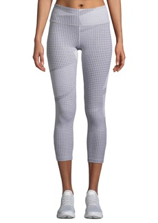 Under Armour Breathelux Jacquard Crop Leggings