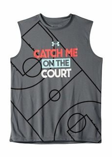 Under Armour Catch Me On The Court Tank Top (Big Kids)