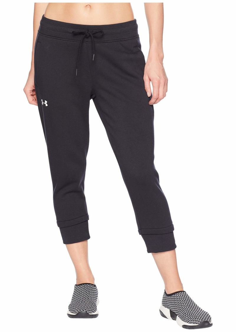 Under Armour Cotton Fleece Slim Leg Crop