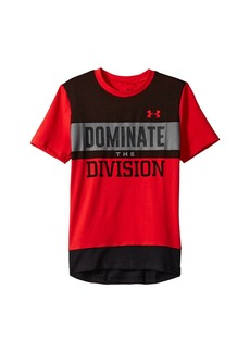 Under Armour Dominate The Division Short Sleeve Tee (Big Kids)
