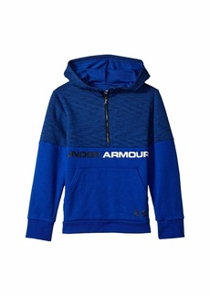 Under Armour Double Knit 1/2 Zip Hoodie (Big Kids)