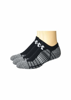 Under Armour Elevated Performance No Show Socks 3-Pair