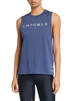 Under Armour Empower Graphic Muscle Tank