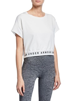 Under Armour Featherweight Fleece Active Crop Top