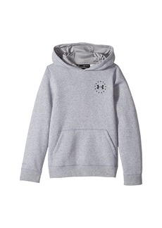 Under Armour Freedom Flag Rival Hoodie (Big Kids)