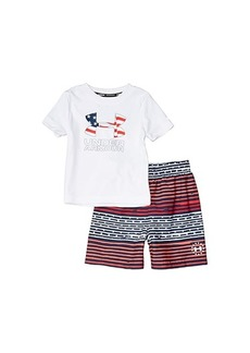 Under Armour Freedom Gradient Stripe Volley (Toddler)