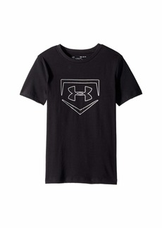 Under Armour Graphic Short Sleeve Plate Icon (Big Kids)