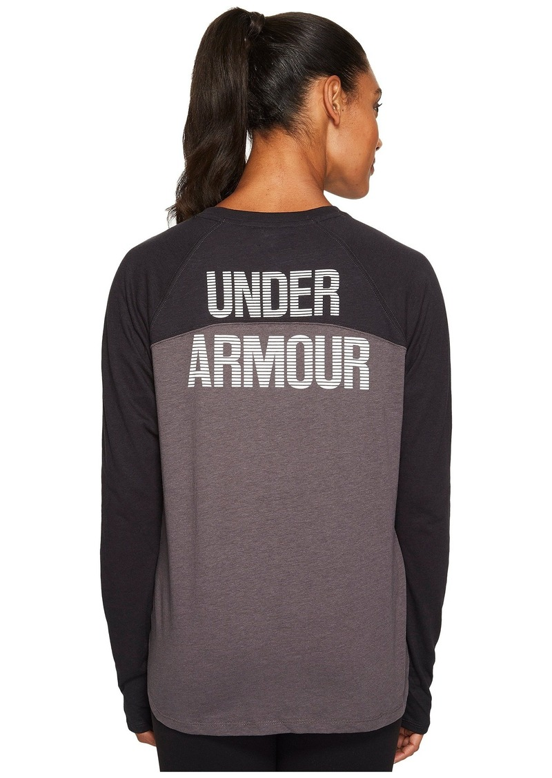 Under Armour Graphic Tri-Blend Long Sleeve