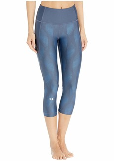 Under Armour HeatGear® Armour Capri Metallic
