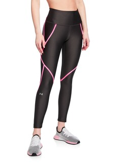 Under Armour HeatGear Armour Edgelit Ankle Crop Legging