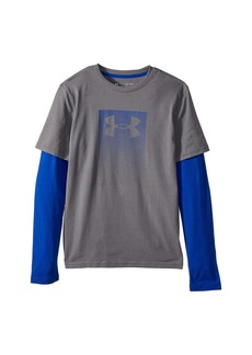 Under Armour Knit 2-in-1 Long Sleeve (Big Kids)
